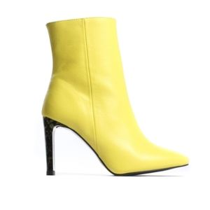 ⭐HOST PICK⭐ L'intervalle Yellow Ankle Boots